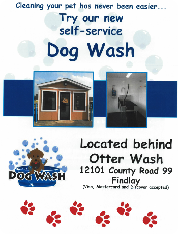 Dog Wash Now Available